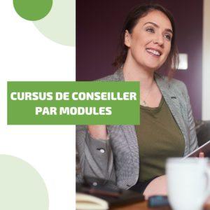 Cursus de Conseiller par modules